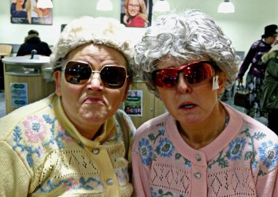 Dancing Grannies at Specsavers Wolverhapton (2)