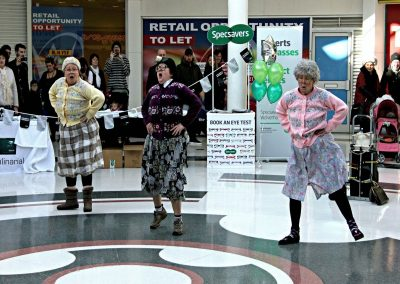Dancing Grannies at Specsavers Wolverhapton (6)