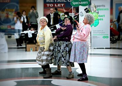 Dancing Grannies at Specsavers Wolverhapton (8)