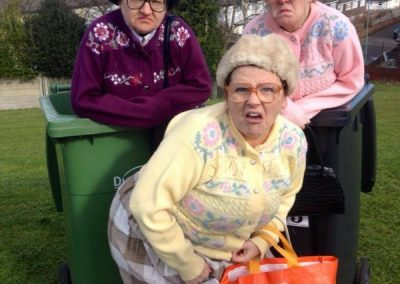 Fizzogs Dancing Grannies Bin Ladies