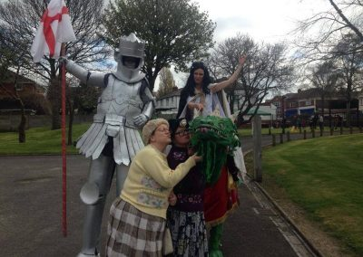 The Dancing Grannies at St Georges Day Celebrations Sandwell (8)
