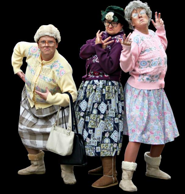 Dancing Grannies Mail Online