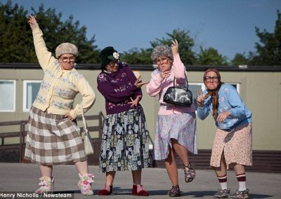 Dancing Grannies Mail Online