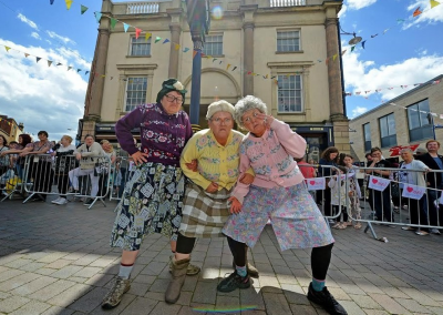 Black Country comics The Fizzogs, also well-known as The Dancing Grannies, write in today's Express & Star