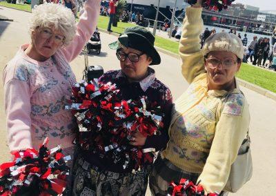 Dancing Grannies Belfast Maritime festival