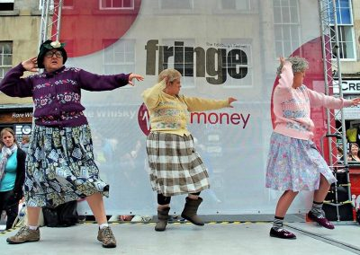 Dancing Grannies at the Fringe 2