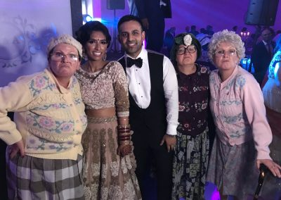 grannies asian wedding